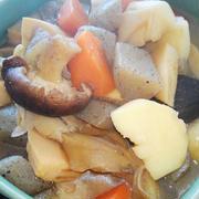 ■出張料理【義姉宅で料理を頼まれて2品作りました♪】煮〆とスペアリブ煮