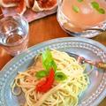 """トマトの水 """"Tomato Water"""" """"Acqua di Pomodoro"""" で2品"""