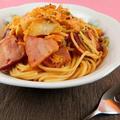豚キムチのスパゲティレシピ