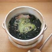 もりもりわかめスープ