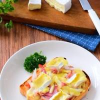 ベーコンの添加物を減らそう!カマンベールチーズ食パンピザのレシピ