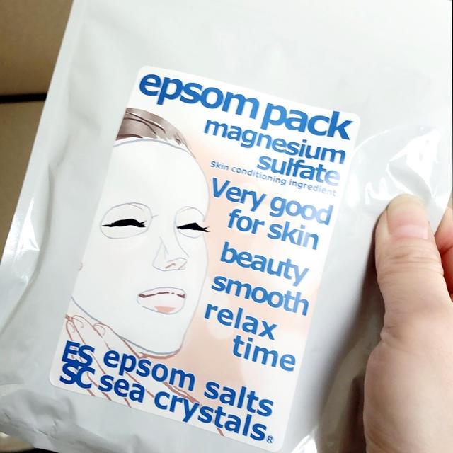 シークリスタルス エプソムパックを使ってみたよ!