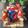 仮面ライダービルドのバースデーケーキ