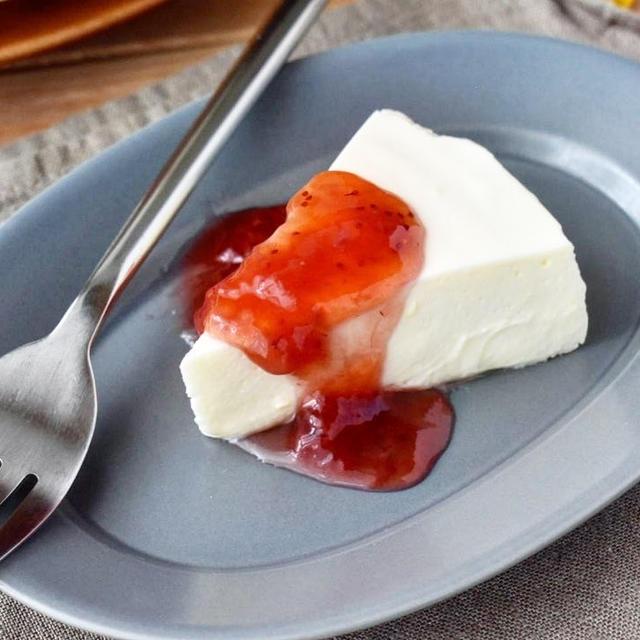 滑らかでとろける舌ざわり【レアチーズケーキ】#連載#レシピブログ