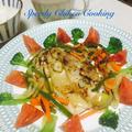 簡単レシピ❣️鶏肉の香味野菜のオリーブ油漬けそのままソテー〜がんばらない美味しいレシピ