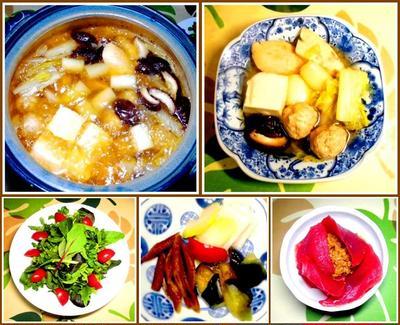 トロカジキと鶏団子の鍋