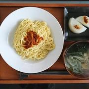 蛯子と卵麺の和え麺\(^-^)/