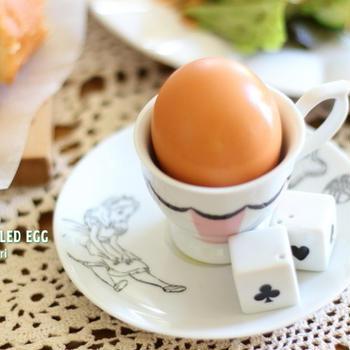 塩味つきゆで卵