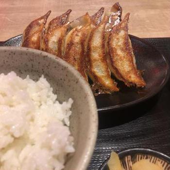 4/25 餃子定食