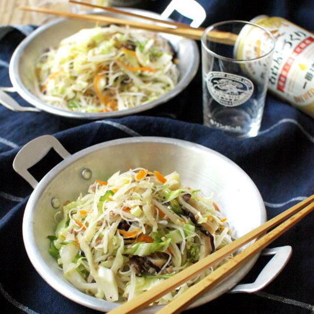 (神奈川)県民の(作る)、焼きビーフン。