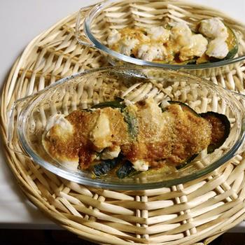潰瘍性大腸炎の食事 鶏ササミとかぼちゃの味噌マヨ