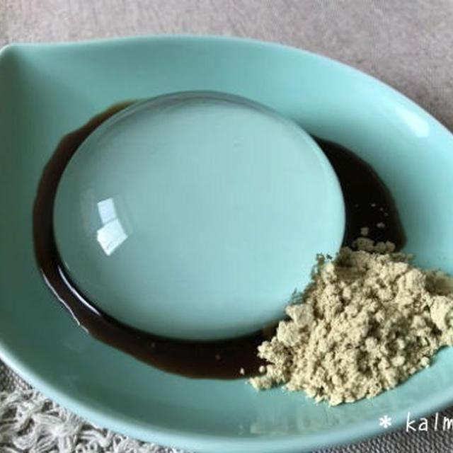 【手作り】ニセコの湧水で作った水信玄餅*レインドロップケーキ