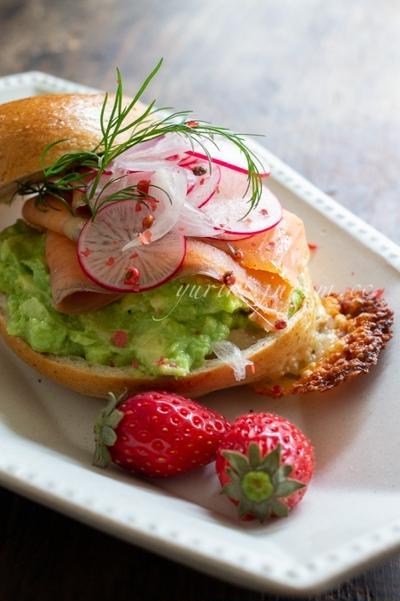 サンドイッチ 〜 いただいたパンで