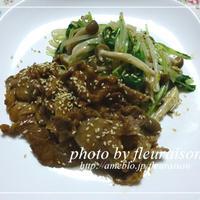 ■ブルドック うまソースで☆野菜たっぷり焼き肉☆