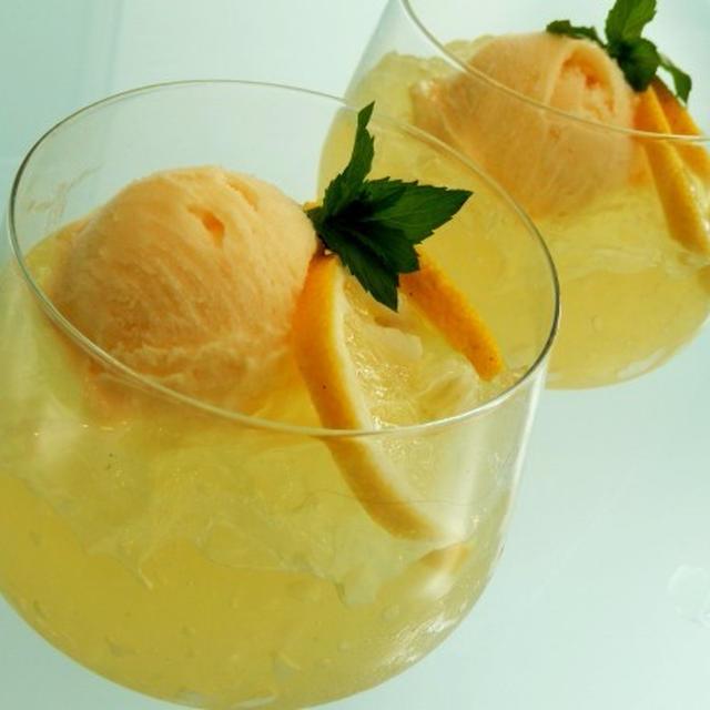 ビタミンたっぷりはちみつレモンゼリー