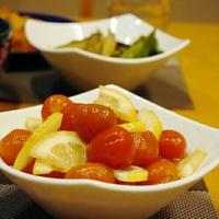 【うちレシピ】ミニトマトのはちみつレモンマリネ / 【参加中】チリ産レモンを使ったさわやか夏レシピ」レシピモニター