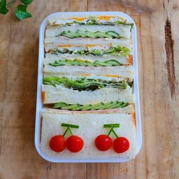 夜勤弁当*サンドイッチ弁当まとめ
