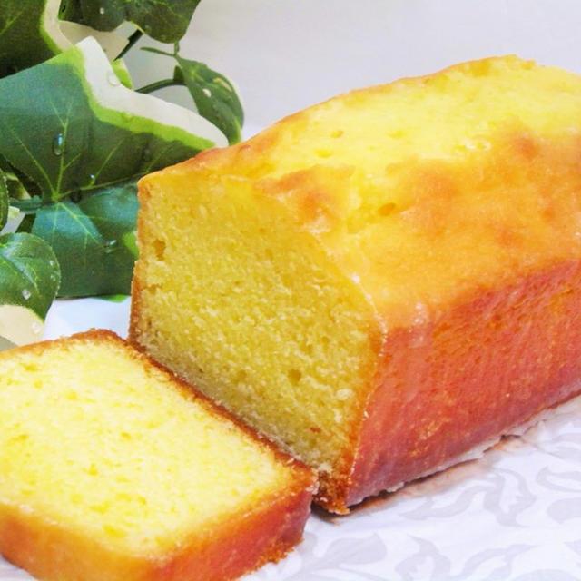 「ウィークエンドシトロン風」柚子ケーキ