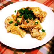 鶏胸肉の簡単味噌マヨ