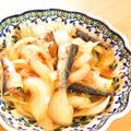 簡単☆オイルサーディンと玉ねぎカツオ醤油