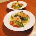 [レシピ]火を使わない!丸ごとアボカドとたっぷり玉ねぎのツナサラダ by manaさん