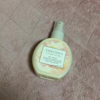 (当選レポート)ブロネット.RBP AURODEA by megami no wakka fragrance body mist pur neroli