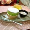 """濃茶のフレンチ・スフレ """"Green Tea Souffle"""" ❥ ふわんふわんの温かいうちに by mayumiたんさん"""