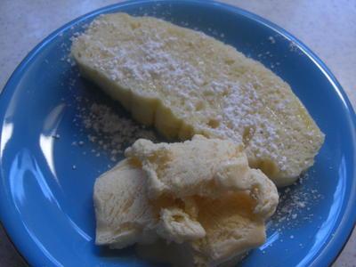 鰹と野菜の照り焼き&りんごとヨーグルトの蒸しケーキ