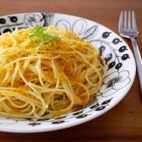 からすみの黄金色スパゲッティ♪おもてなしやパーティーに作りたい簡単おうちイタリアンレシピ!
