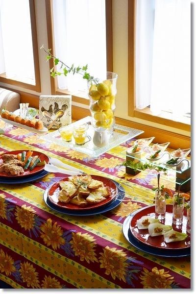 おもてなし料理&テーブル講座「カジュアルイタリアンでランチパーティ」