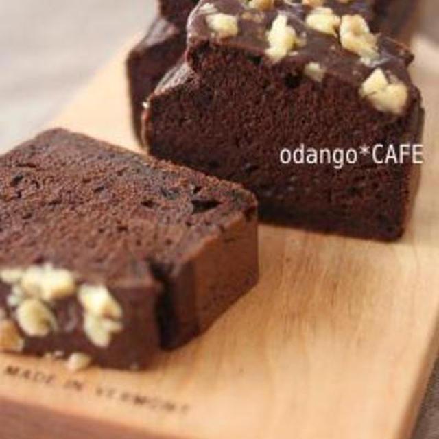 チョコ パウンド ケーキ