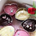 <バニラ香るイチゴ・ホワイト・デコ生チョコ詰め合わせ> by はらぺこ準Jun(はーい♪にゃん太のママ改め)さん