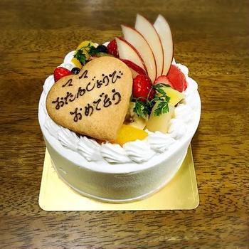 無料のケーキでお祝い❤︎まだ間に合うよ!