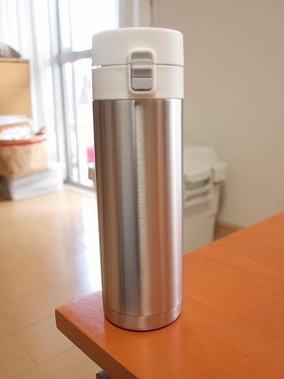 無印良品の水筒(組合せできるステンレス保温保冷携帯マグ)を買いました!