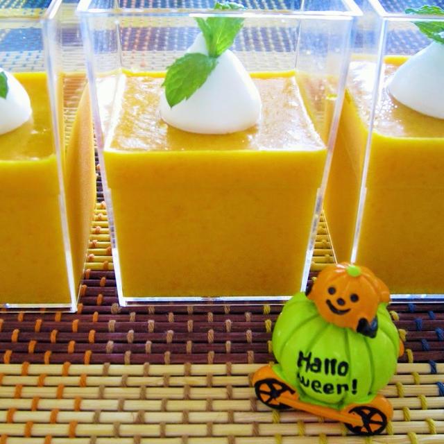 [レンジで簡単]かぼちゃのチーズプリン風