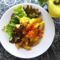 南瓜とマカロニと卵のサラダ