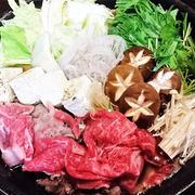 【レシピ】簡単★速攻★美味★おもてなし★パーティ【すき焼き&〆のうどんすき】