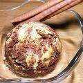 マーブルアイスクリームバニラ&チョコ/おうちで簡単なアイスクリームの作り方