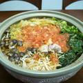 鶏肉と小松菜のフレッシュトマト鍋♪