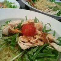 *茨城県産 レタスと水菜で簡単レシピ*