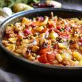 【簡単おいしい♪】イカとポテトのトマト煮
