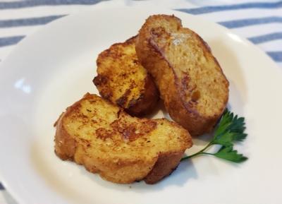 アップルパイ味のフレンチトースト