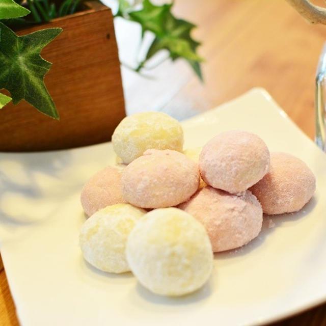 子供に大人に大人気のスノーボールクッキーの作り方♪手土産やプレゼントに最適のお菓子レシピ♪