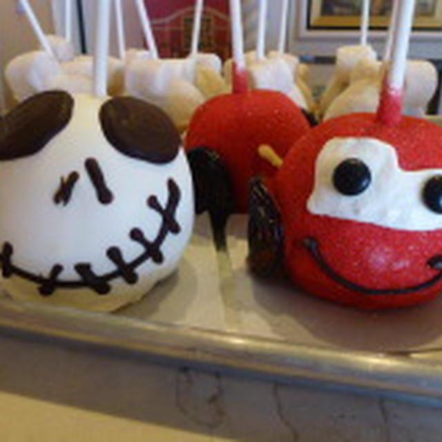 ディズニーリゾート(LA)で見つけた甘いもの りんごチョコ(^^♪