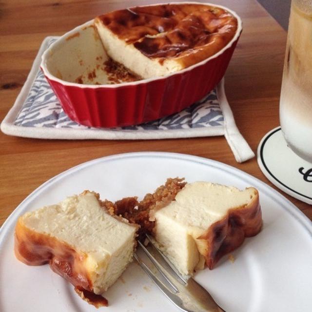豆腐のベイクドチーズケーキ