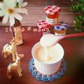 材料2つ♪手作り練乳(﹡ˆ﹀ˆ﹡)♡ 練乳を使った色々~♪