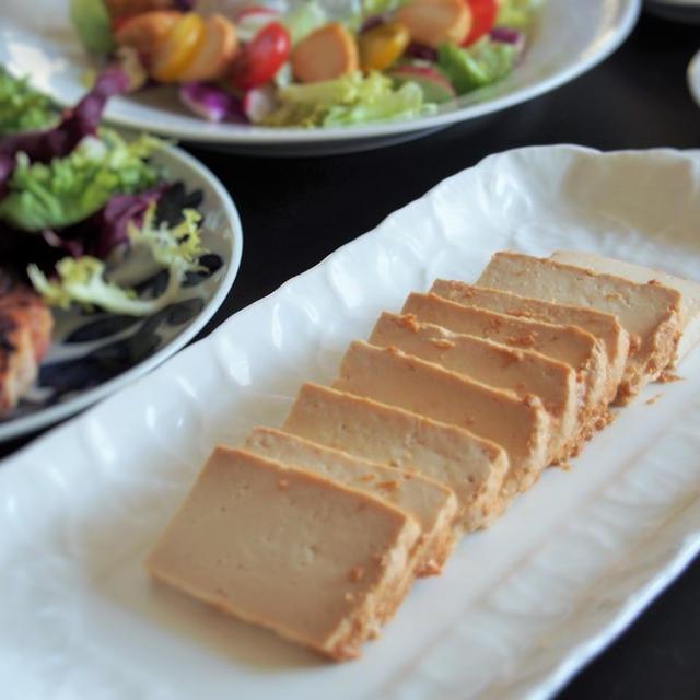 お豆腐の味噌漬け