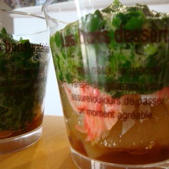 おきゅうとのカップサラダ