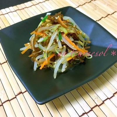 いつもとは違う食べ方を⁈つるつるっと中華ナムル♡レシピ