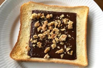 大好きなブルボン様の「スライス生チョコレート」で朝食を